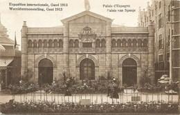 GAND-GENT - Exposition Internationale De 1913 - Palais D'Espagne - Oblitération De 1913 - Edit. K. Van Melle - Expositions