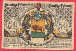 Allemagne 1 Notgeld 50 Pfenning Stadt Echleis UNC  Lot N °406 - [ 3] 1918-1933 : Weimar Republic