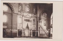 Carte Photo Turquie,ISTAMBUL,istanbul ,la Mosquée SULEYMANIYE,1550,splendeu R De La Joie,soliman Le Magnifique,sinan,rar - Turquie