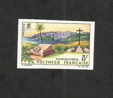 "Polynésie "" 8 Fr. Marquises - Non Dentelé ND "" Neuf** (Yvert N°33 - 1964) - Ongebruikt"