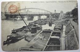 QUAI D'AUSTERLITZ - NOUVEAU PONT DU MÉTROPOLITAIN  - PARIS - Die Seine Und Ihre Ufer