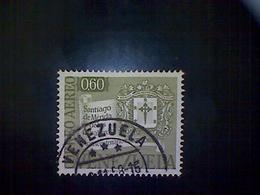 Venezuela, Scott #C683, Used (o), Air Mail, 1958, Commemorative Of City Of Merida, 60cts - Venezuela