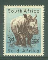 South Africa: 1954   Wild Animals    SG155   3d     MNH - Ongebruikt
