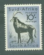South Africa: 1954   Wild Animals    SG164   10/-     MNH - Gebruikt
