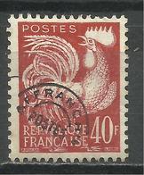 FRANCE , Préoblitéré , 40 Frs , Type Coq Gaulois , 1922 - 1947 , N° Y&T : 116 * - 1893-1947