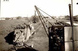 Photographie D'un Chargement Ou Déchargement De Bois Dans Un Train - Reproduction - Reproductions