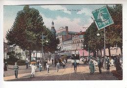 Ps- 54 - NANCY - Place Saint Jean - Tram - Timbre - Cachet - 1910 - Nancy
