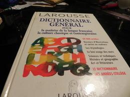DICTIONNAIRE GENERAL POUR LA MAITRISE DE LA LANGUE FRANCAISE LA CLUTURE CLASSIQUE ET CONTEMPORAINECHEZ LAROUSSE - Dictionaries