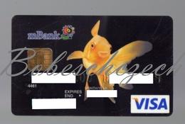 AK18 CZECH REPUBLIC  VISA MBank Formerly BRE Bank - MKonto - - Geldkarten (Ablauf Min. 10 Jahre)