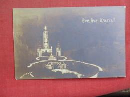 RPPC  Ave  Ave Maria    =ref 2895 - Postcards