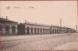 Moeskroen Mouscron La Gare Station Geanimeerd Animee Railway (En Très Bon Etat) (In Zeer Goede Staat) - Mouscron - Moeskroen