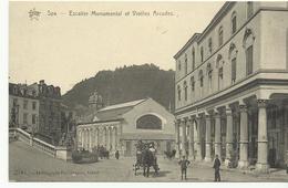 Spa Escalier Monumental Et Vieilles Arcades  (8744) - Spa