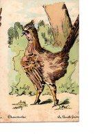 Cpa Chantecler D Edmond Rostand Illustration Roberty La Poule Faisanne - Other