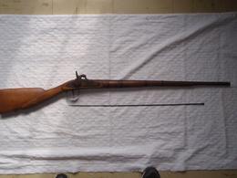 Ancien Fusil De Braconnier Africain - Armes Neutralisées