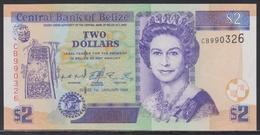Belize 2 Dollars 01.01.1999 UNC - Belize