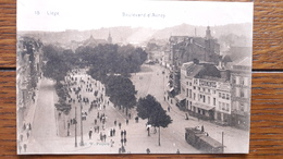 Belgique Liège Boulevard D'Avroy Tramway - Luik