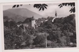 Carte Postale Ancienne,73,SAVOIE,ALBERTVILLE,EN 1930,CHATEAU,EGLISE,CONFLANS - Albertville