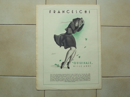ITALIA RIVISTA CRONACHE DELLA GUERRA  DEL 1940 RETRO PUBBLICITà BOCCASILE CALZE QUIRINALE FRANCESCHINI - Books, Magazines, Comics