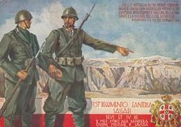 "11807-151° REGGIMENTO FANTERIA BRIGATA ""SASSARI""-ILLUSTRATORE GIUSEPPE BARTOLI-1939-FG - Reggimenti"
