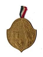 MILITARIA . MÉDAILLE . PRISONNIERS DE GUERRE . ARRONDISSEMENT DE BAGNÈRES 1915 - Réf. N°100TI - - Armée De Terre