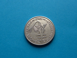 50  FRANCS  CFA  B.C.E.A.O  ANNNÉE  2012 Sup - Ivory Coast