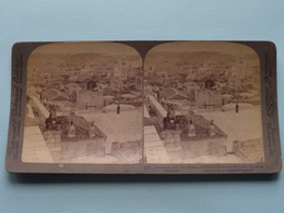 Jerusalem And The Mount Of Olives PALESTINE ( N° 12 ) Stereo Photo : Underwood & Underwood Publi ( Voir Photo ) ! - Stereoscopic