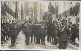2 Photographies Enterrement Militaire -photographe Lozinski à Vilno - Pologne