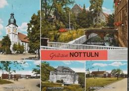 GERMANIA - NOTTULN/WESTFALIA - VEDUTE VARIE - VIAGGIATA  FRANCOBOLLO ASPORTATO - Germania