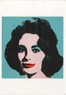 Künstlerkarte AK Andy Warhol Andrew Warhola Liz #5 Early Colored Liz 1963 Elizabeth Taylor Pop Art Signiert - Warhol, Andy