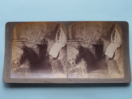 A Tomb With The Stone Rolled Away Jerusalem ( N° 28 ) Stereo Photo : Underwood & Underwood Publi ( Voir Photo ) ! - Photos Stéréoscopiques