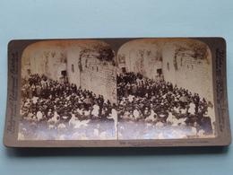 Pilgrims On The Via Dolorosa Jerusalem Palestine ( N° 23 ) Stereo Photo : Underwood & Underwood Publi ( Voir Photo ) ! - Stereoscopic