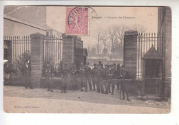 Ps- 54 - LONGWY - Caserne Des Chasseurs- Timbre - Cachet - 1905 - Longwy