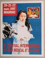 Slocombe - 6e Festival Film Medical + Yeun Ok - Lot De 2 Carte Postale RARE - Cartes Postales