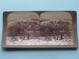 Hebron The Home Of Abraham, Isaac And .. Palestine ( N° 41 ) Stereo Photo : Underwood & Underwood Publi ( Voir Photo ) ! - Photos Stéréoscopiques