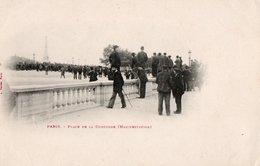 PARIS ( 75 )  Place De La Concorde ( Manifestation ) . - Markten, Pleinen