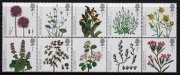 GB 2009 Block Action For Species Plants Complete Set Of Unmounted Mint Stamps. - Blocks & Miniature Sheets