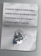 PIN'S R4 BSR DINANT NUMEROTE - Polizei