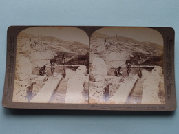 Fountain Of Elisha, Jericho, Palestine ( N° 49 ) Stereo Photo : Underwood & Underwood Publi ( Voir Photo ) ! - Stereoscopic