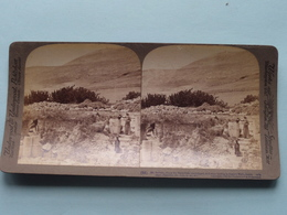 Mt. Gerizim, Samaritans, Palestine ( N° 56 ) Stereo Photo : Underwood & Underwood Publi ( Voir Photo ) ! - Stereoscopic