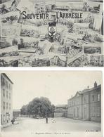 RHÔNE - Lot 45 Cartes - Voir Scannes - Diverses Communes - Frankreich