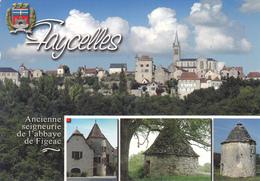 46 FAYCELLES / MULTIVUES / BLASON - France