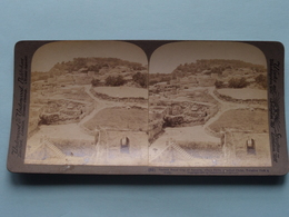 Ancient Royal City Of Samaria, Palestine ( N° 62 ) Stereo Photo : Underwood & Underwood Publi ( Voir Photo ) ! - Stereoscopic