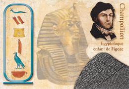46 FIGEAC  / MULTIVUES / CHAMPOLLION EGYPTOLOGUE / ENFANT DE FIGEAC - Figeac