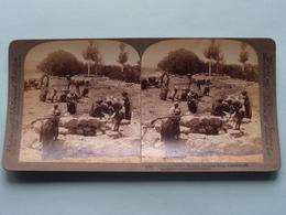 """ Joseph's Well "" Dothan, Palestine ( N° 65 ) Stereo Photo : Underwood & Underwood Publi ( Voir Photo ) ! - Stereoscopic"