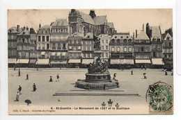 - CPA SAINT-QUENTIN (02) - Le Monument De 1557 Et La Basilique 1907 - Edition C. Bloch N° 8- - Saint Quentin
