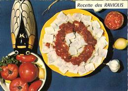 CPM - RECETTE DE CUISINE D'EMILIE BERNARD - N° 47 - LES RAVIOLIS - Recipes (cooking)