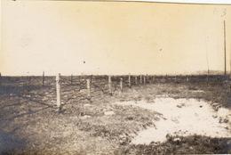 Photo Avril 1916 OPPY (près Vimy, Artois) - Réseau De Fil Barbelé (A181, Ww1, Wk 1) - Frankreich