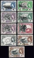 SAINT HELENA 1953 - Used Values From Set - Saint Helena Island