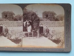 Summer Houses At Caesarea, Palestine ( N° 91 ) Stereo Photo : Underwood & Underwood Publi ( Voir Photo ) ! - Stereoscopic