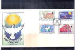 British Virgin Islands - FDC Christmas 1995 - Complete Set (to See) - Iles Vièrges Britanniques